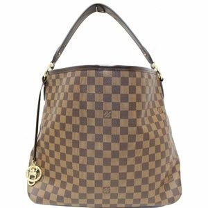 LOUIS VUITTON Delightful MM Damier Ebene Hobo Bag